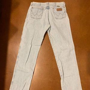 Men's Bootcut Wrangler Jeans